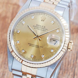 Rolex - Oyster Perpetual DateJust- 16233G - Men - 1990-1999