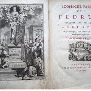 François Halma - Ezopische Fabelen van Fedrus- 1703