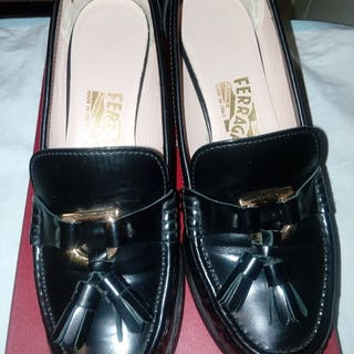 e2ad46cfcc5 Salvatore Ferragamo - 1 mocassini con tacco Loafers – Current sales ...