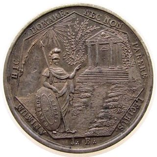 France - Medal 'Loge des Arts Réunis - Orient de Rouen' 1862 - Silver