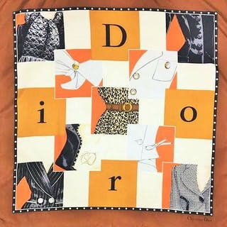 61b70409b76a Christian Dior - Foulard – Current sales – Barnebys.com