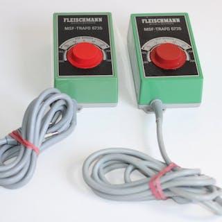 Fleischmann H0 - 6735 - Zubehör - zwei MSF-Transformatoren