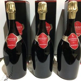 """Gosset """"Grande Réserve"""", Brut - Champagne - 3 Magnums (1,5 l)"""