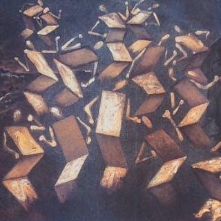 Salvador Dali- Twist dans l'atelier de Velåzquez