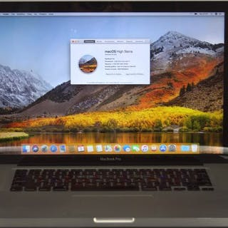 "Apple W80198QBAGZ - MacBook Pro 15 ""Intel Core i7 - 2,66..."