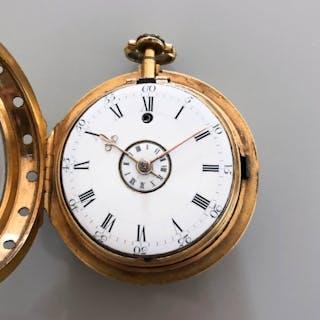 Gilt verge alarm by Simon de Charmes, 1690s - Unisex - Earlier than 1850