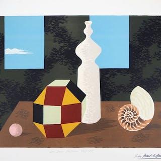 Jean Picart Le Doux - Les deux fenêtres : Hommage à René Magritte