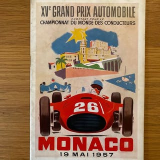 Formula One - Fangio - 1957 - Event program
