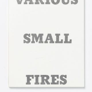 Ed Ruscha - Various Small Fires and Milk - 1970