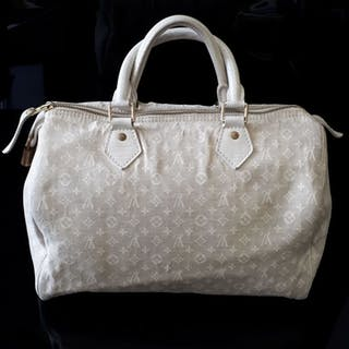 Louis Vuitton - Speedy 30 Monogram Mini Lin Handbag Handbag 3294a11fe8476