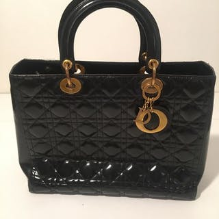 Christian Dior - Lady Dior Handbag – Current sales – Barnebys.co.uk 7161b4bfd2176