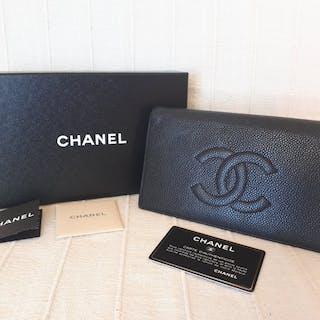 23fc360c0544 Chanel - caviar Wallet – Current sales – Barnebys.co.uk