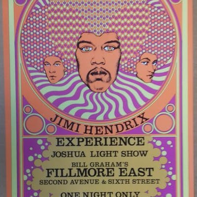 Jimi Hendrix (Experience) - Fillmore East - New York 1968...