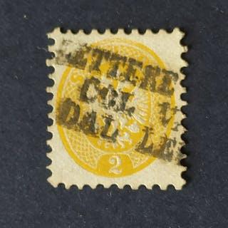 Lombardo-Veneto 1865 - 2 soldi giallo - Sassone N. L41