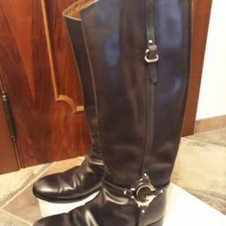 322d8d55961 Gucci - Stivali da donna - Knee high boots – Current sales – Barnebys.com