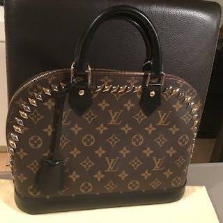 02a028658b98 ... Louis Vuitton - Monogram Metal Stones Alma PM Handbag. Closed auction