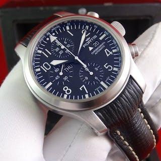 Fortis - B-42 Flieger Chronograph- 656.10.11.L01 - Unisex - 2011 - actualidad