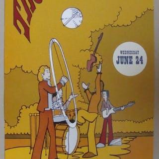 Electric Factory USA 1970 - Affiche de réimpression (réédition) - 1990