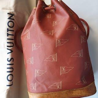 2a4006c97533 LOUIS VUITTON IVORY DAMIER AZUR NEVERFULL GM SHOULDER BAG ...
