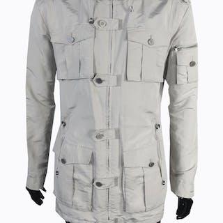 fbdd647c0470 Roberto Cavalli Class - Lightweight Military Jacket – Current sales –  Barnebys.com