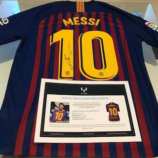 premium selection d1844 5d612 FC Barcelona - Spanish Football League - Lionel Messi - 2019 ...