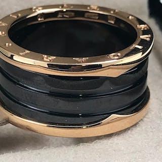 Bvlgari - 18 kt. Pink gold, BZERO - Ring