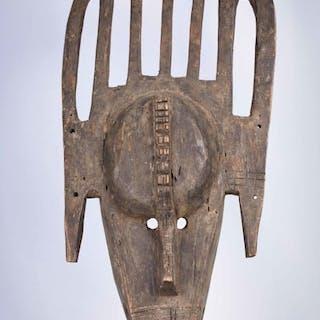 Initiation mask - Wood - Bamana / Bambara - Mali