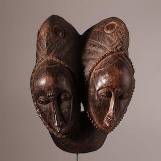 Mask - Wood - Baoulé - Ivory Coast