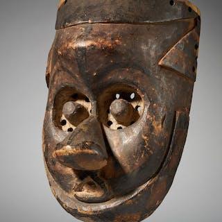 Mask - Wood - Bieeng - Kuba - Congo DRC