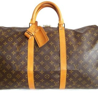 e993d433508c Louis Vuitton - Keepall 50 Luggage bag + LV accessories -  No Reserve  Price!