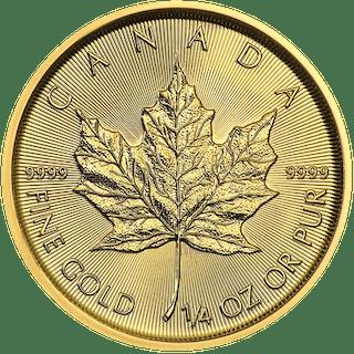 Canada - 10 Dollars 2018 Maple Leaf - 1/4 oz - Or