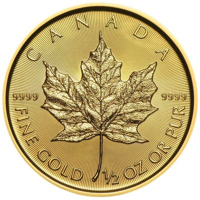 Canada - 20 Dollars 2018 Maple Leaf - 1/2 oz - Or