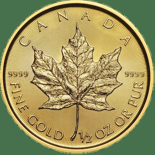 Canada - 20 Dollars 2018 Maple Leaf - 1/2 oz - Or
