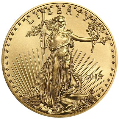 États-Unis - 25 Dollars 2018 American Eagle - 1/2 oz - Or