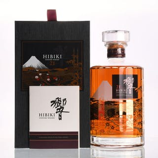 Hibiki 21 years old Kacho Fugetsu Limited Edition - one of 2000 bottles - 700ml