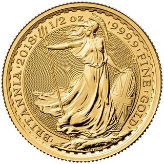 United Kingdom - 50 Pound 2018 - 1/2 Oz - Gold