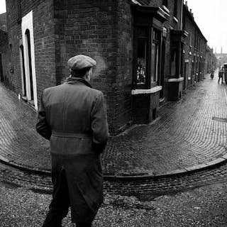 John Bulmer (1938-)- Black Country, Divided Street, 1961