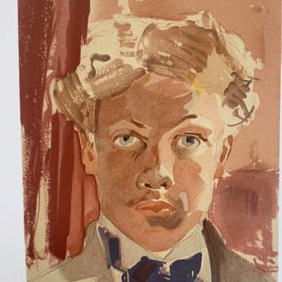 Raoul Dufy - Autoportrait 1901