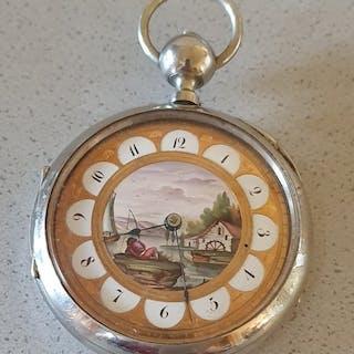 28. Geneve - Taschenuhr Quarter Repeater - Herren - Schweiz 1840