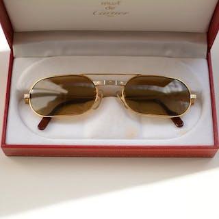 f2d2baacbb9 Short time left! Cartier - Must Santos de Cartier Sunglasses