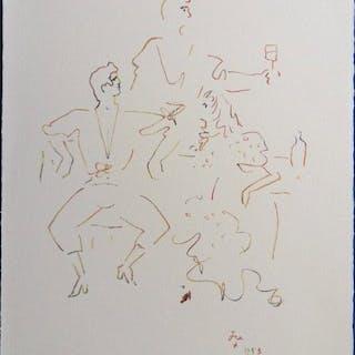 Jean Cocteau-Fête espagnole