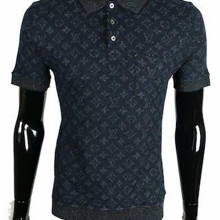 9a5f1ffd0251 Louis Vuitton - Tweed Monogram Polo Shirt – Current sales – Barnebys.com