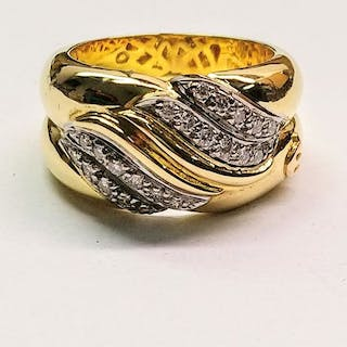 Maurice Lacroix - 18 kt. Gold - Ring Diamond