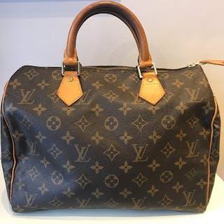 0f6697c45f18 Louis Vuitton - Speedy 30 Monogram Handbag – Current sales – Barnebys.com