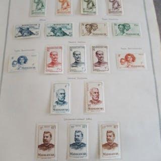 Anciennes colonies françaises - Collection avancée de timbres VOL 2 de Thiaude