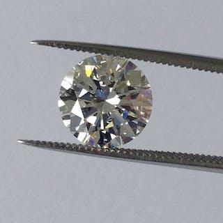 Diamond - 2.28 ct - Brilliant - F - LC (loupe clean)
