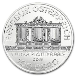 1 Feinunze (31,1 Gramm) - Platin .999 - Münze Österreich...