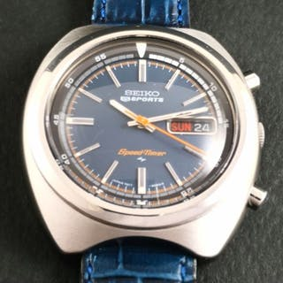 0f9549ab27f Seiko -  NO RESERVE PRICE  5Sports Speed-Timer - 7017-6040 - Men - –  Current sales – Barnebys.co.uk