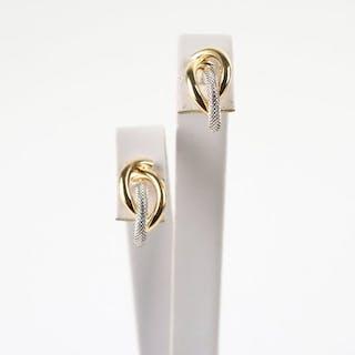 5c48a3158be74f UNOAERRE - 18 carati Oro bianco, Oro giallo - Orecchini