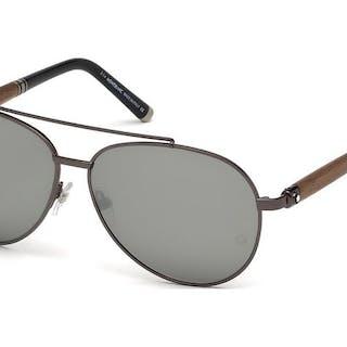 Montblanc - Aviator Gunmetal Wood ZEISS Lenses - New...